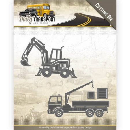 Amy Design - Daily Transport - Construction Vehicles