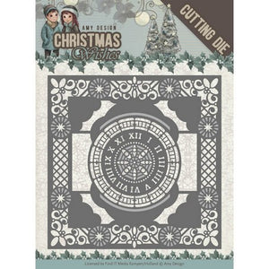 Amy Design - Christmas Wishes - Twelve O'clock Frame