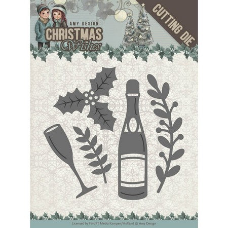 Amy Design - Christmas Wishes - Champagne