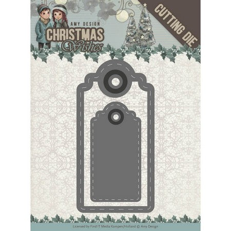 Amy Design - Christmas Wishes - Wishing Labels