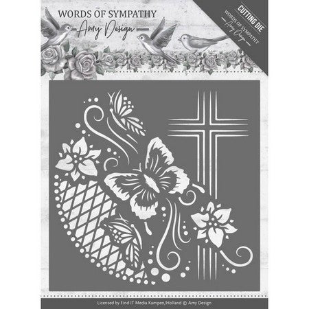 Amy Design - Words Of Sympathy - Cross Frame