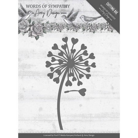 Amy Design - Words Of Sympathy - Sympathy Flower