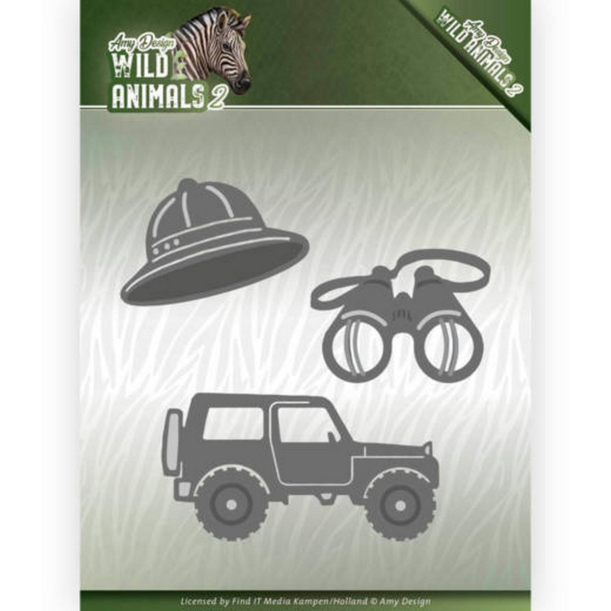 Amy Design - Dies - Wild Animals 2 - On A Safari