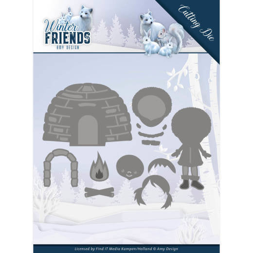 Amy Design - Dies - Winter Friends - Eskimo