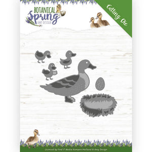 Amy Design - Dies - Botanical Spring - Some Ducks