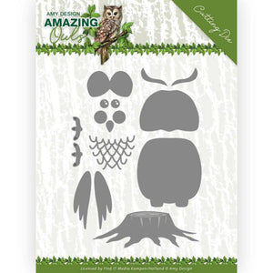 Amy Design - Dies - Amazing Owls - Build Up Owl