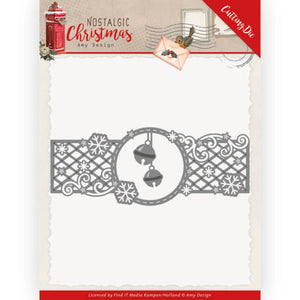 Amy Design - Dies - Nostalgic Christmas - Christmas Bells Border