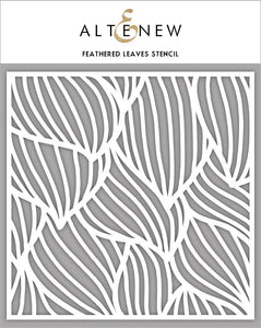 Altenew - Stencils - Feathered Leaves
