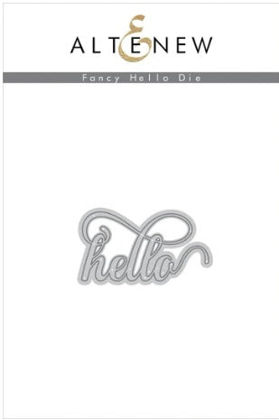 Altenew - Dies - Fancy Hello