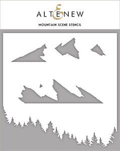 Altenew - Stencils - Mountain Scene