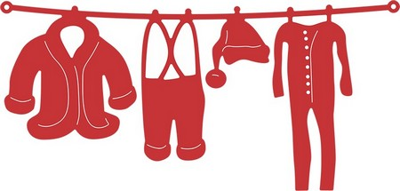 Cheery Lynn Designs - Santa's Laundry