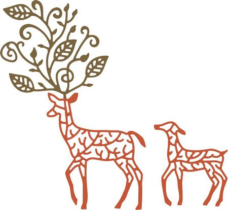 Cheery Lynn Designs - Deer in the Forest