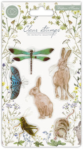 Craft Consortium - Clear Stamps - Wildflower Meadow
