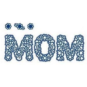 Sue Wilson Designs - Expressions Collection - Floral Mom/Mum