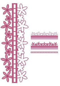 Sue Wilson Designs - Configurations Collection - Blossom Edger