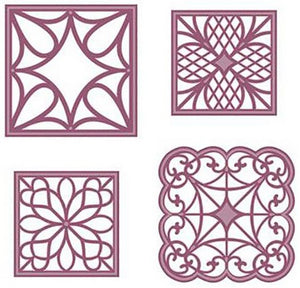 Sue Wilson Designs - Configurations Collection - Corner Squares