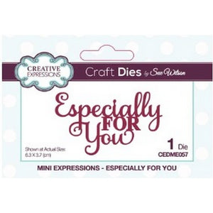 Sue Wilson Designs - Dies - Mini Expressions Collection - Especially For You