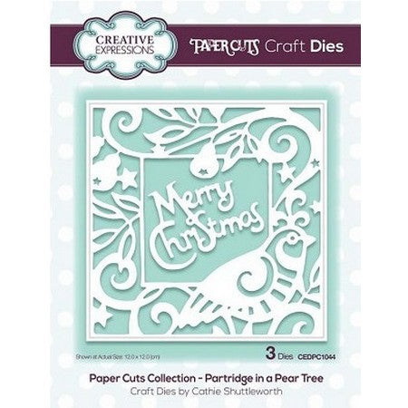 Paper Cuts Collection Partridge in a Pear Tree Craft Die