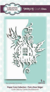 Creative Expressions - Paper Cuts Collection - Fairy Door Edger