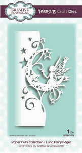 Creative Expressions - Paper Cuts Collection - Luna Fairy Edger
