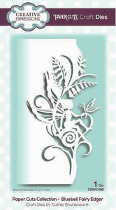 Creative Expressions - Paper Cuts Collection - Bluebell Fairy Edger