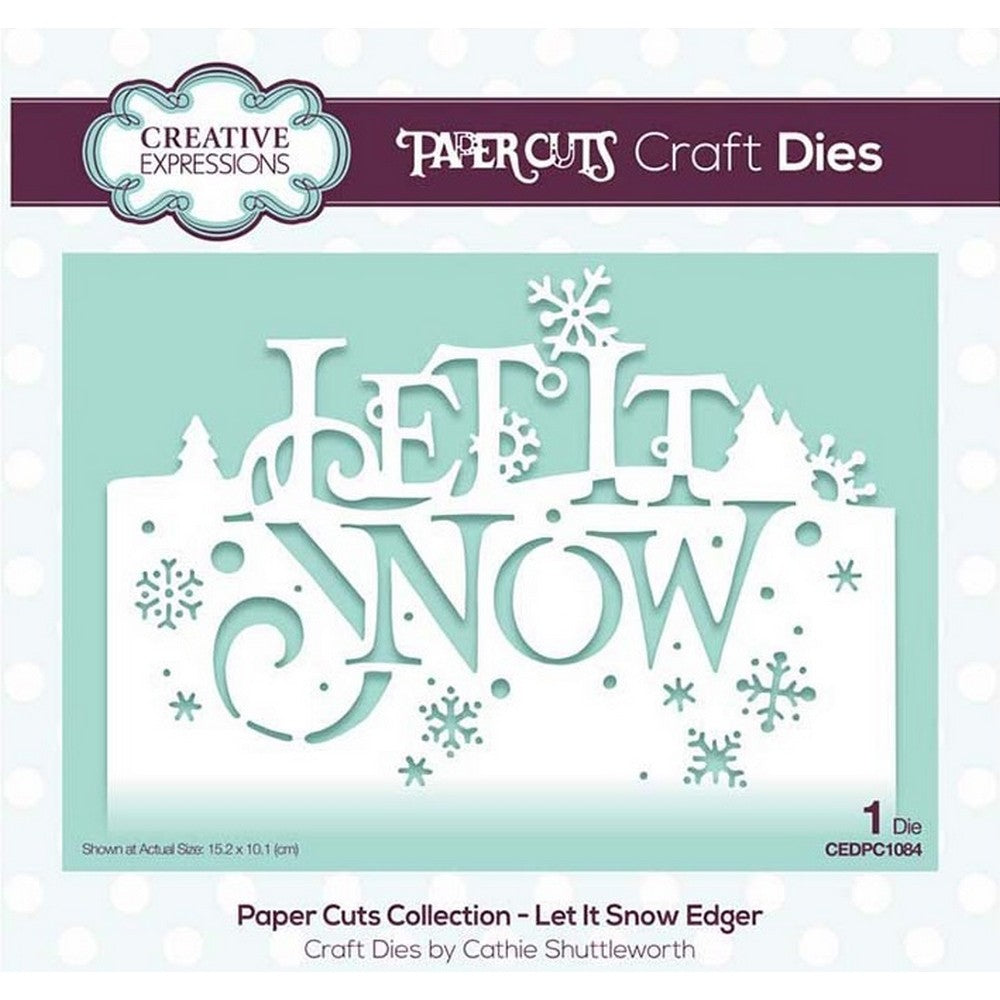 Creative Expressions - Paper Cuts Collection - Let It Snow