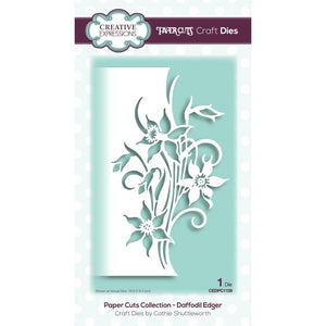Creative Expressions - Dies - Paper Cuts Collection - Daffodil Edger