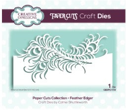 Creative Expressions - Dies - Paper Cuts Collection - Feather Edger