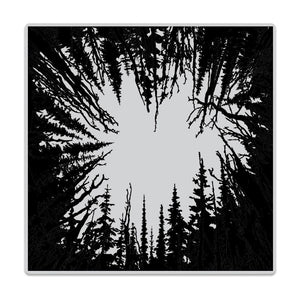 Hero Arts - Bold Prints Stamps - Cathedral of Trees