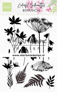Marianne Design - Clear Stamps - Botanical