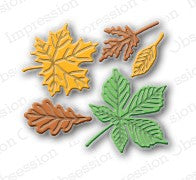 Impression Obsession - Small Leaf Set