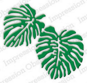Impression Obsession - Dies - Tropical Monstera