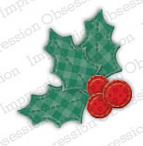 Impression Obsession - Patchwork Holly