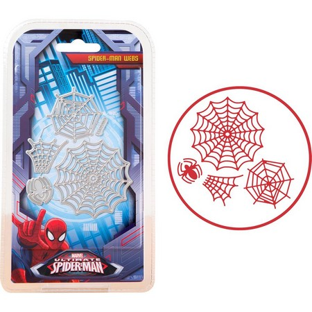 Marvel - Cutting Dies - Spider Man - Webs