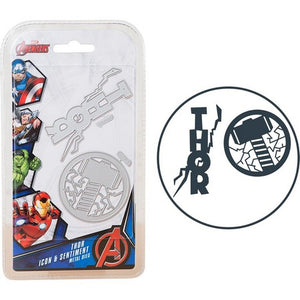 Marvel - Cutting Dies - Avengers - Thor Icon & Sentiment