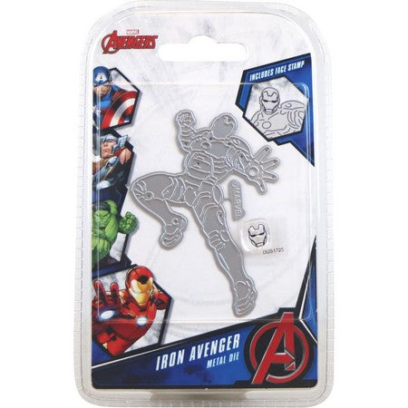 Marvel - Cutting Dies - Avengers - Iron Avenger