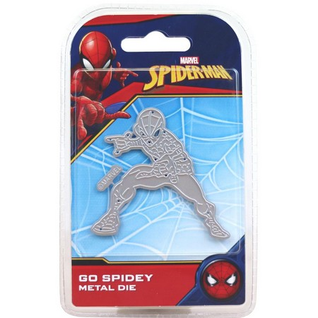 Marvel - Cutting Dies - Spider Man - Go Spidey