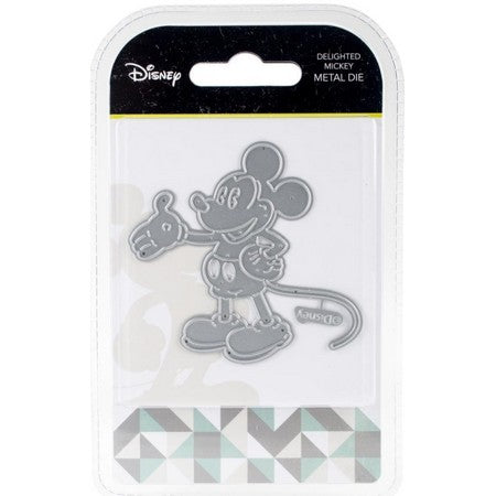 Disney - Cutting Dies - Delighted Mickey