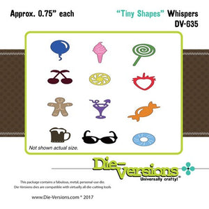 Die-Versions - Whispers - Tiny Shapes