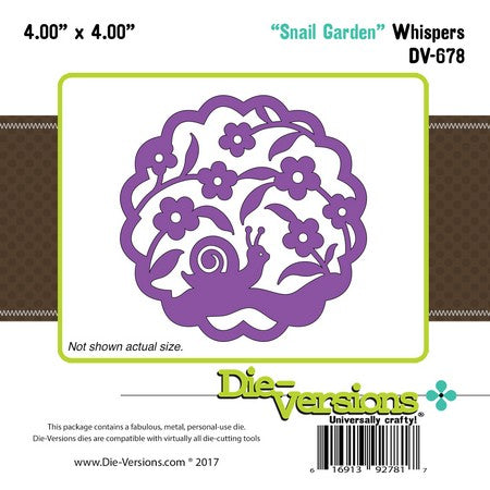 Die-Versions - Whispers - Snail Garden