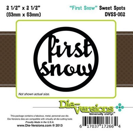 Die-Versions - Sweet Spots - First Snow