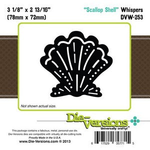Die-Versions - Whispers - Scallop Shell