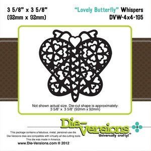 Die-Versions - Whispers - Lovely Butterfly