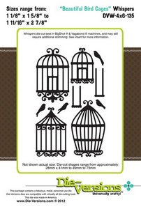 Die-Versions - Whispers - Beautiful Bird Cages