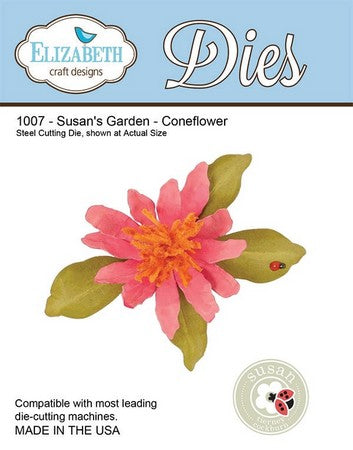 Elizabeth Craft Design - Susan's Garden - Coneflower