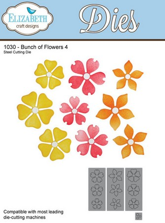 Elizabeth Craft Design - Bunch Of Flowers 4