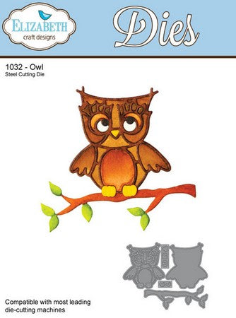 Elizabeth Craft Design - Owl