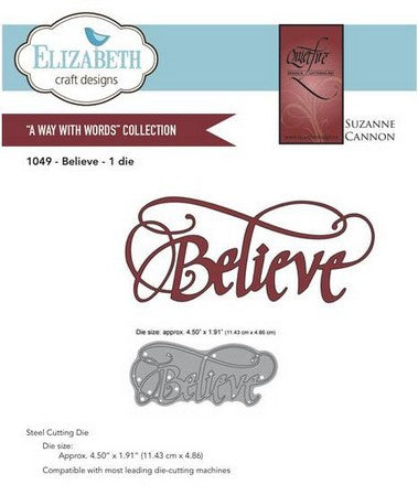 Elizabeth Craft Design - Believe