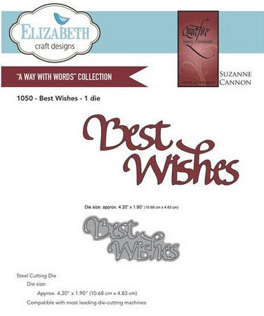 Elizabeth Craft Design - Best Wishes