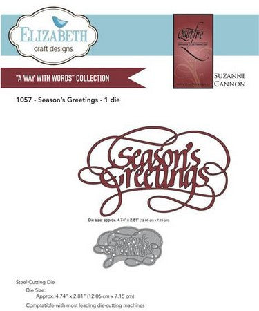 Elizabeth Craft Design - Seasons Greetings